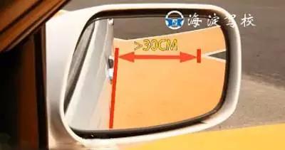 网站首页 学车指南 驾驶技巧 倒车入库,图文解析          等于30厘米